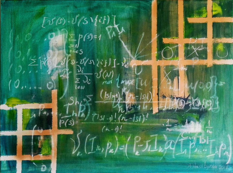 """Anastasia Vasilyeva - Conceptual artwork """"The game of life"""""""