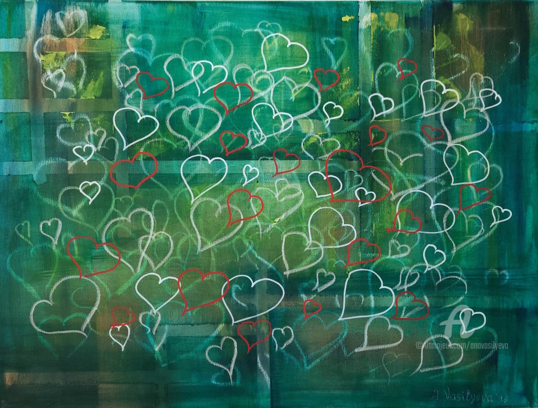 "Anastasia Vasilyeva - Conceptual artwork ""First Love"""