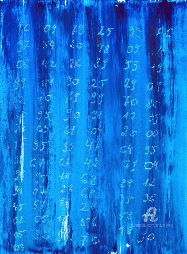 "Anastasia Vasilyeva - ""Random numbers"", Conceptual drawing"