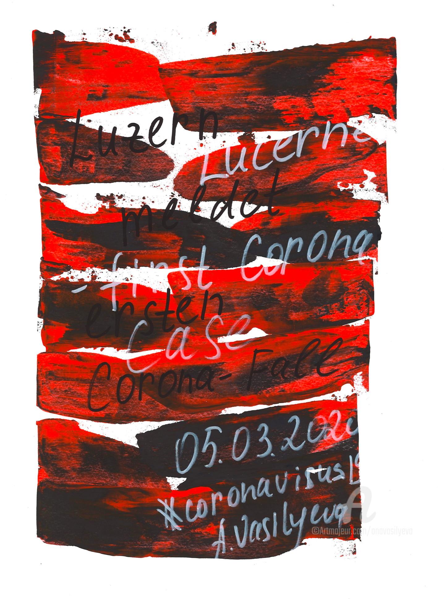 Anastasia Vasilyeva - 05.03.2020 - Lucerne has first Corona case. From COVID-19.