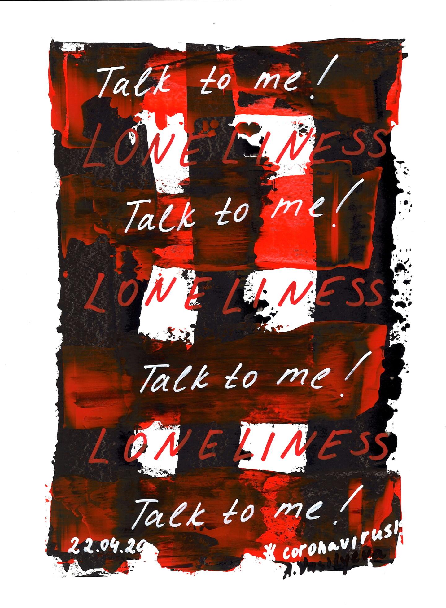 Anastasia Vasilyeva - 22.04.2020 - Talk to me! COVID-19 Documentary art.