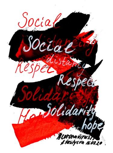 16.03.2020 -Social distancing, Respect, Solidarity. COVID-19
